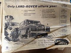 Land Rover advert