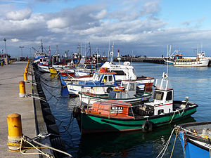 English: Kalk Bay habour, Cape Peninsula, Sout...