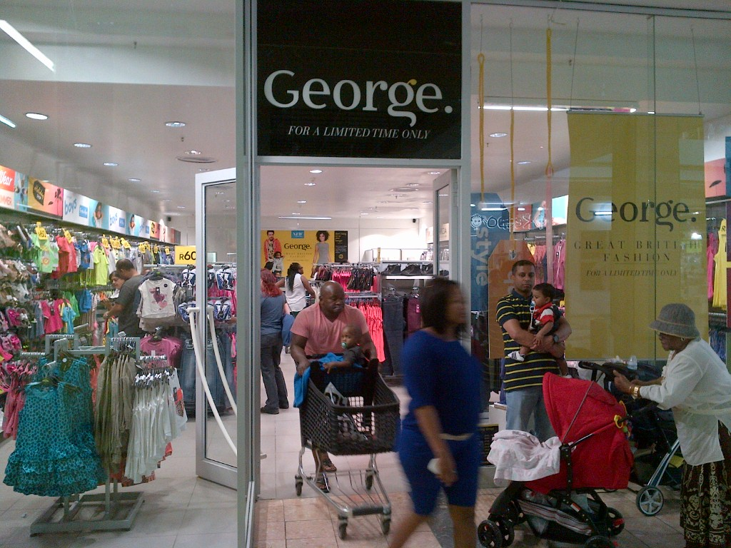 George opens in Johannesburg