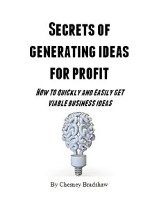 Secrets of generating ideas for profit