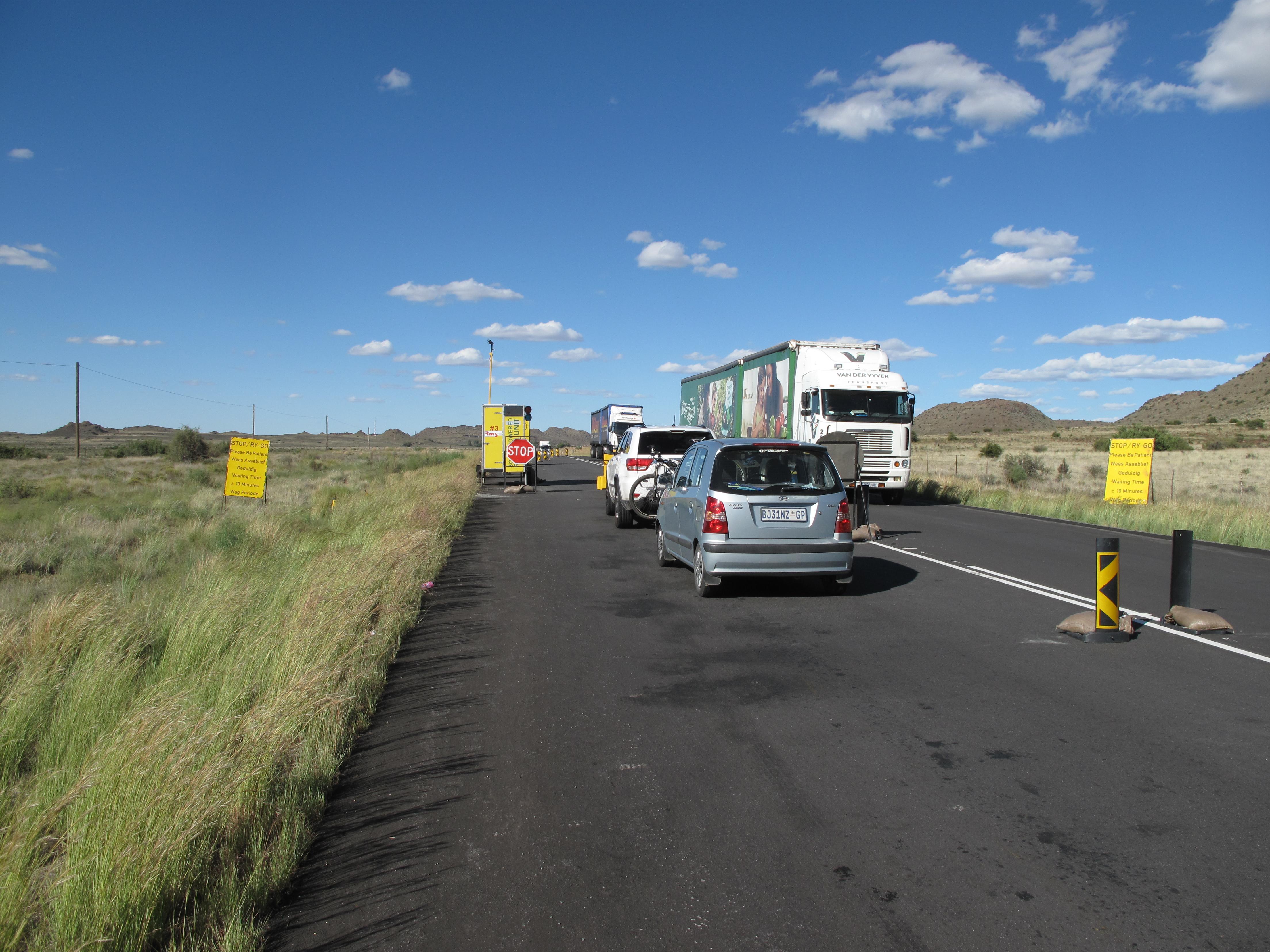 On the road through the Karoo. Photo: Chesney Bradshaw