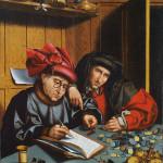 Marinus van Reymerswaele (Follower of) (Zeeland, The Netherlands, 1490 - Goes, Zeeland, The Netherlands, 1546)