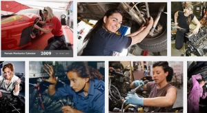 Women mechanics