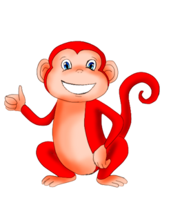 Copyright Chesney Bradshaw 2016. I am the sole own of the Red Monkey image. Any form of copying of this image is prohibited by law.