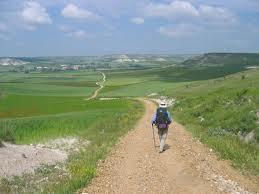 Santiago de Compostella pilgrimage route